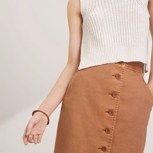 Wilfred Laurient Button Skirt